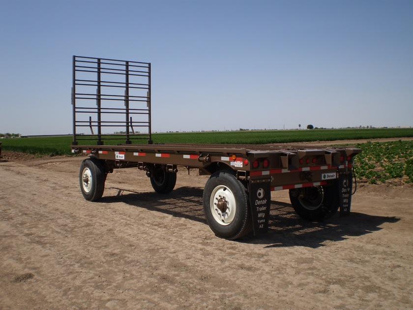 Hydraulic Powered Transfer Field Trailers